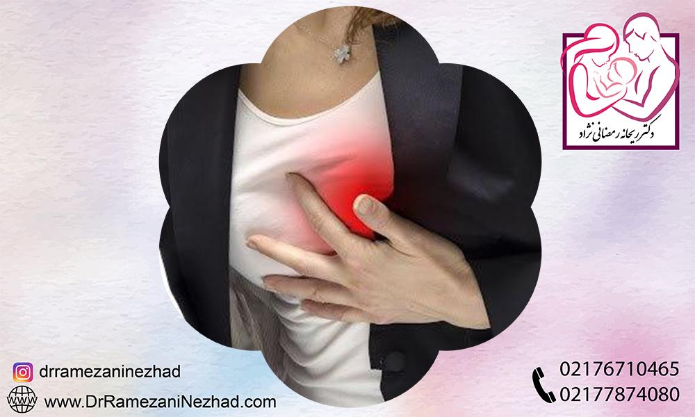 علائم ظاهری سرطان پستان